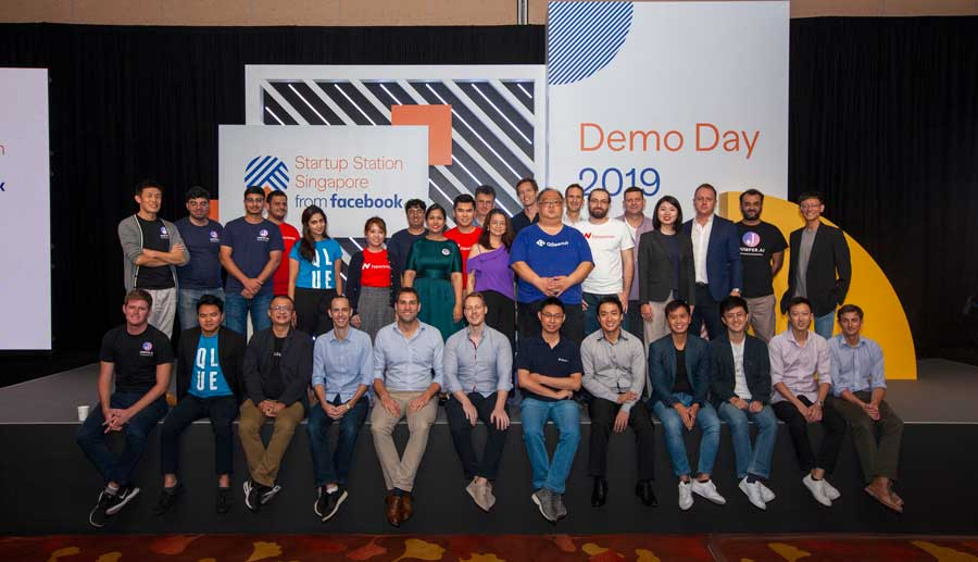 10 Data Innovation Startups Graduate from Facebook Singapore